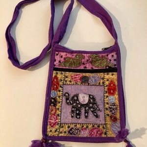 Handbags - Bohemian Embroidered Fabric Bag